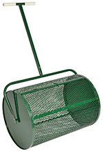 Mulch Spreaders Mulch Rollers Lawn Roller Compost Spreader At